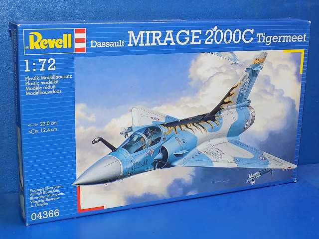 Revell 1/72 4366 Mirage 2000C Tigermeet Date: 00's