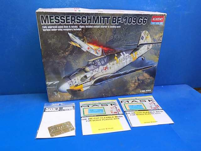 Academy 1/48 2146 Me Bf109G-6 w/ Extras Date: 00's