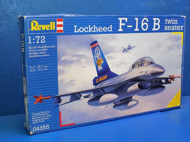 Revell 1/72 4355 F-16B Twin Seater Date: 00's