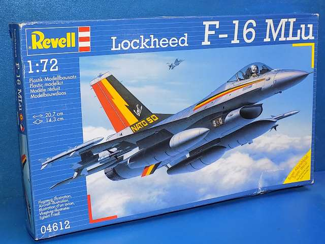 Revell 1/72 4612 F-16 MLU Date: 00's