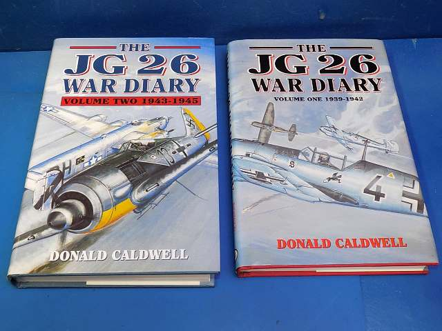 Books - - The JG26 War Diary Volumes 1 and 2 Date: 00's