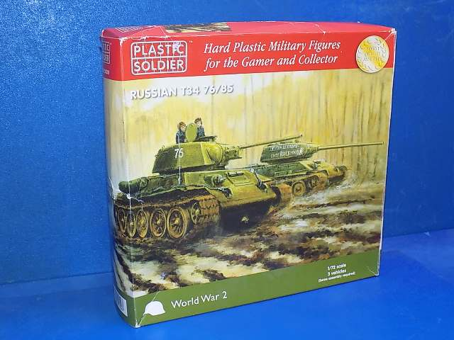 Plastic Soldier Company 1/72 WW2V20001 T34 76/85 (x3) Date: 00's