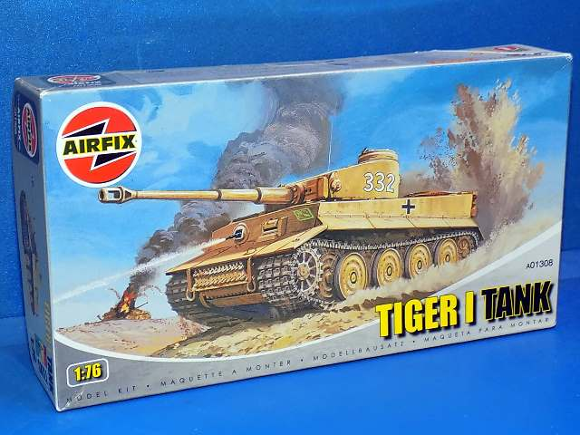 Airfix 1/76 01308 Tiger I Date: 00's