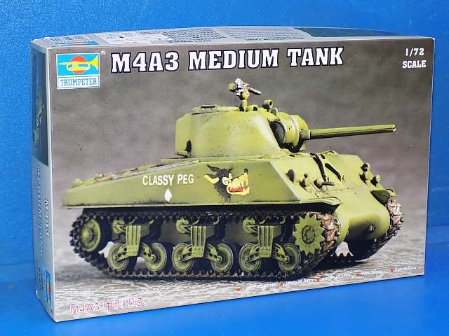 Trumpeter 1/72 07224 M4A3 Sherman Date: 00's