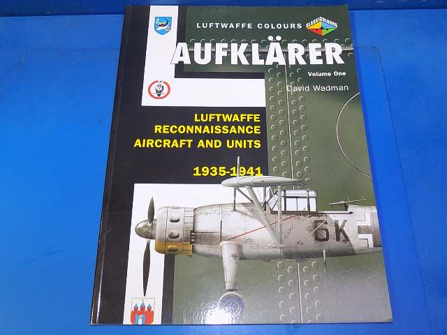 Books - - Luftwaffe Colours Aufklarer Vol 1 Date: 00's