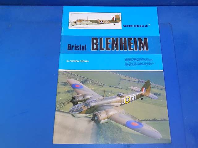 Warpaint - 26 No26 - Bristol Blenheim Date: 00's