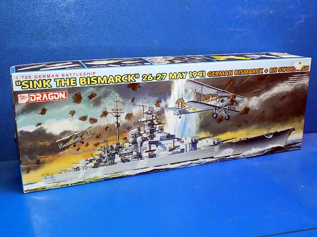 Dragon 1/700 7125 Sink the Bismarck Date: 00's