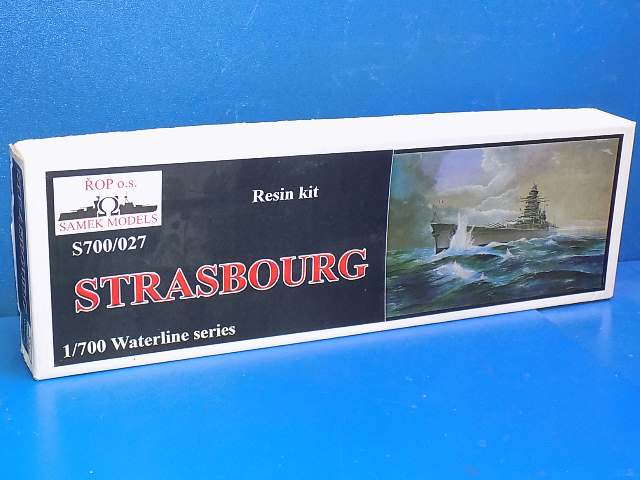 Samek Models 1/700 027 Strasbourg Resin Kit Date: 00's