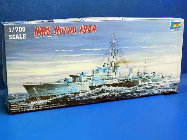 Trumpeter 1/700 05759 HMS Huron 1944 Date: 00's