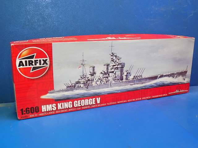 Airfix 1/600 06205 HMS King George V Date: 00's