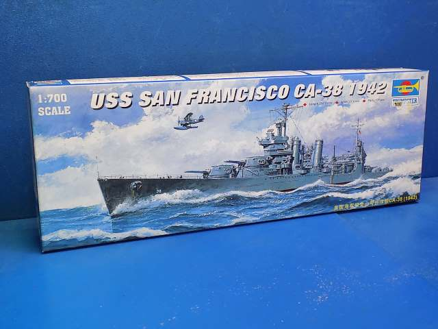 Trumpeter 1/700 05746 USS San Francisco Date: 00's