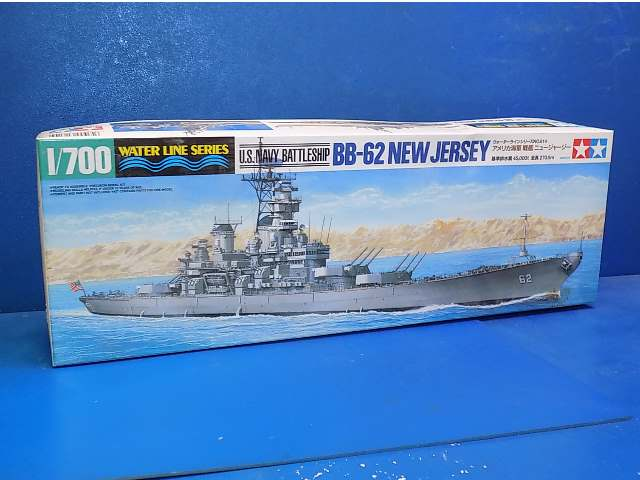 Tamiya 1/700 31614 US Battleship BB-62 New Jersey Date: 00's