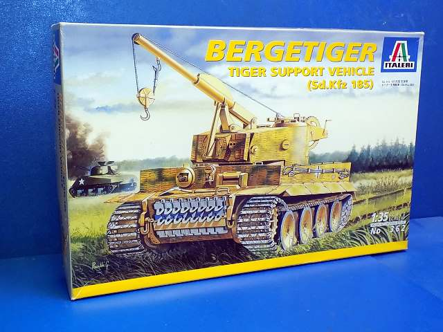 Italeri 1/35 362 Bergetiger Support Vehicle Date: 00's