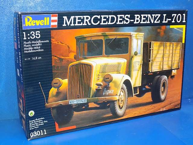 Revell 1/35 03011 Mercedes Benz L-701 Date: 00's