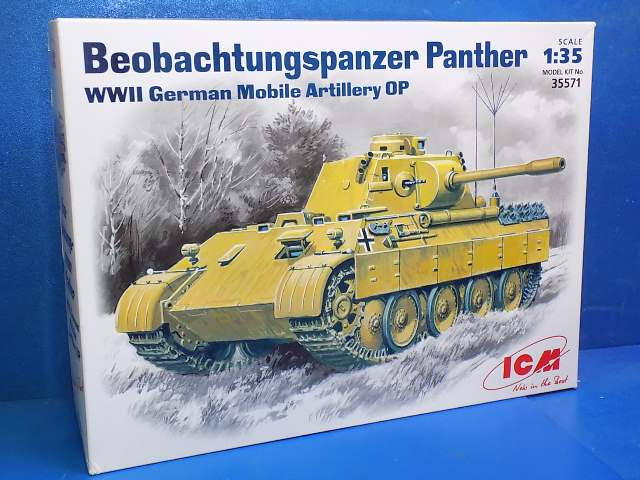 ICM 1/35 35571 Beobachtungs Panther Date: 00's