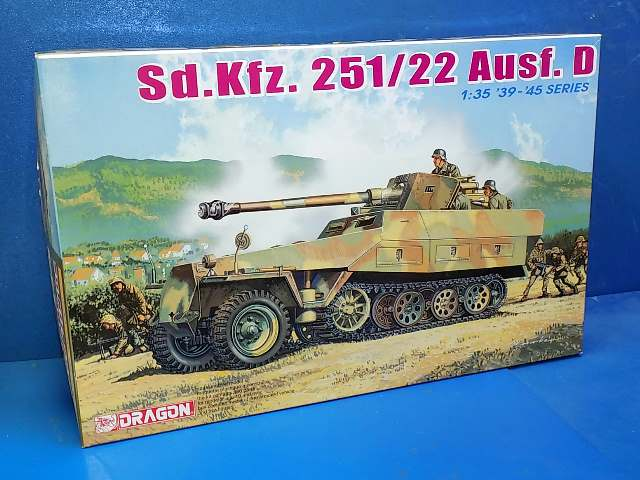 Dragon 1/35 6248 Sd.Kfz.251/22 Ausf.D Date: 00's