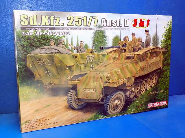 Dragon 1/35 6223 Sd.Kfz. 251/7 Ausf.D Date: 00's