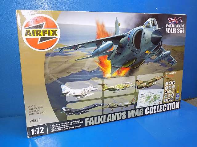 Airfix 1/72 98670 Falklands War Collection (6 Kits) Date: 00's