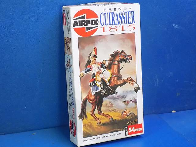Airfix 54mm 27462 French Cuirassier 1815 Date: 1976