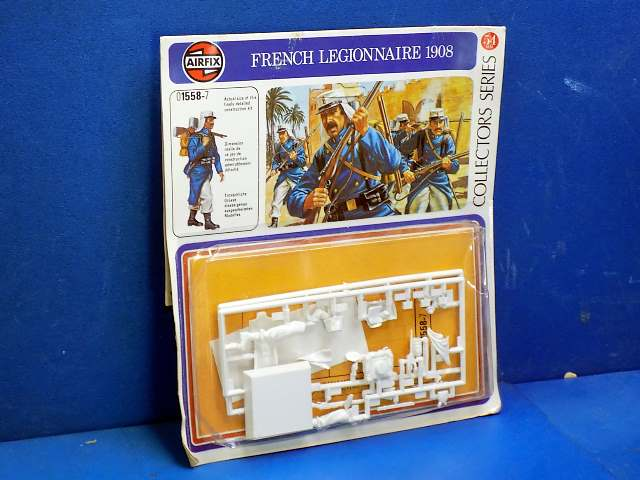 Airfix 54mm 01558 French Legionnaire 1908 Date: 70's