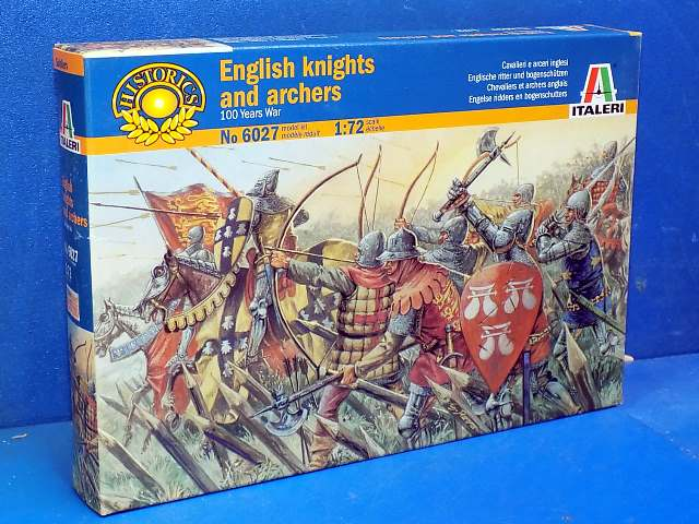 Italeri 1/72 6027 English Knights and Archers Date: 00's