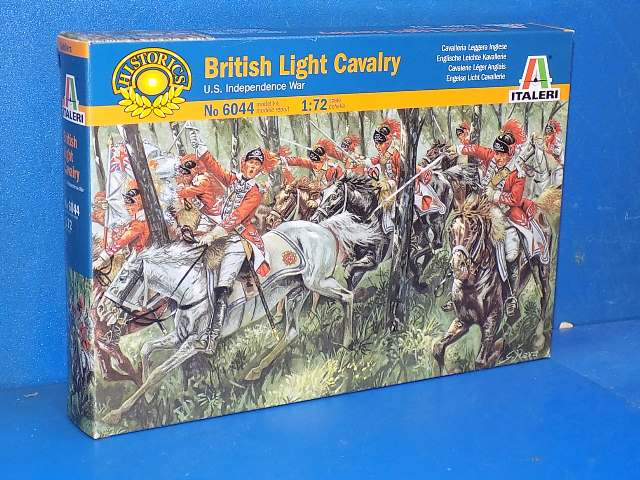 Italeri 1/72 6044 British Light Cavalry Date: 00's