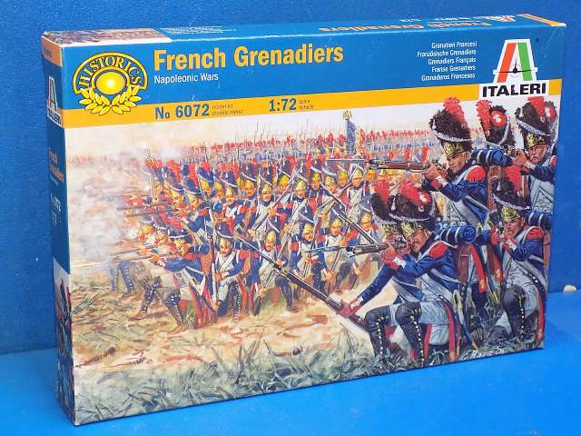 Italeri 1/72 6072 French Grenadiers Date: 00's