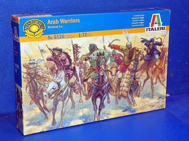 Italeri 1/72 6126 Arab Warriors Date: 00's