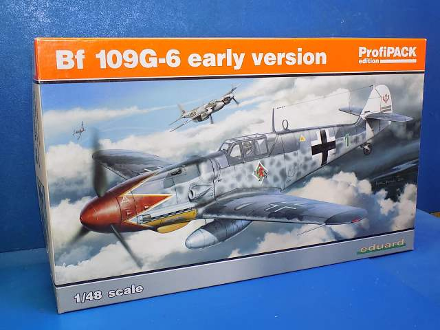 Eduard 1/48 82113 Bf109G-6 Early Version Profipack Date: 00's