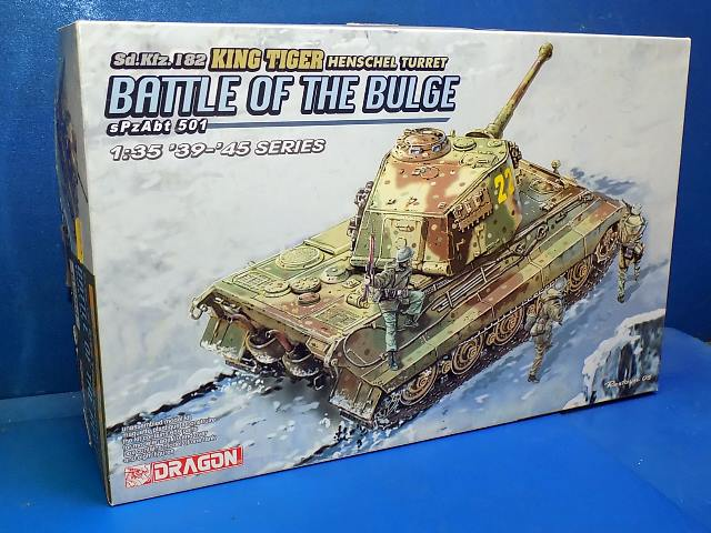 Dragon 1/35 6254 King Tiger - Battle of the Bulge Date: 00's