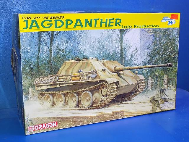 Dragon 1/35 6393 Jagdpanther Late Production Date: 00's