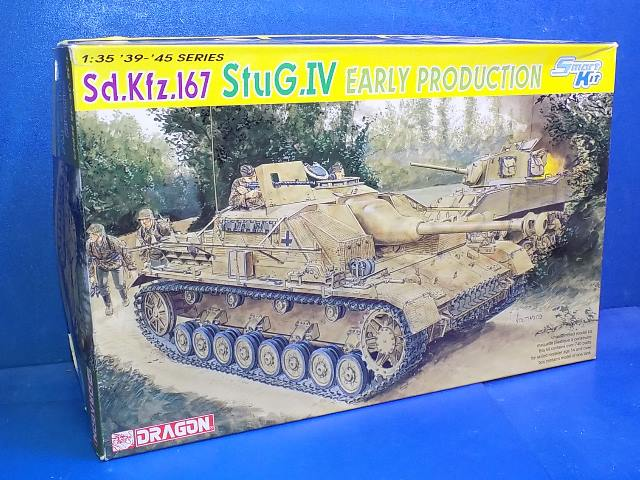 Dragon 1/35 6520 Stug IV Early Production Date: 00's