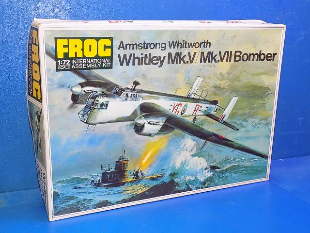 Frog 1/72 F207 Whitley Date: 1970's