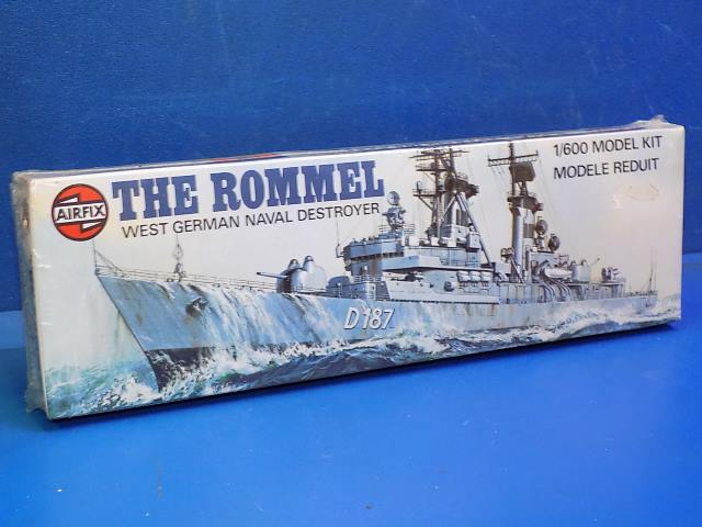 Airfix 1/600 02202 The Rommel Date: 1981