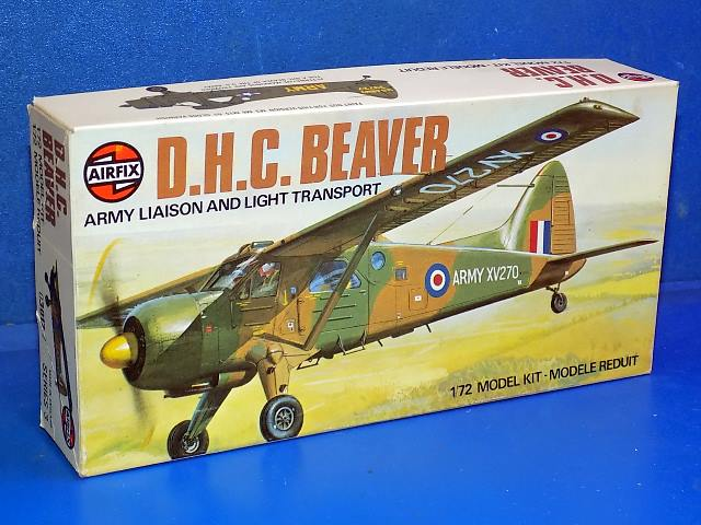 Airfix 1/72 03017 DHC Beaver Date: 1970's