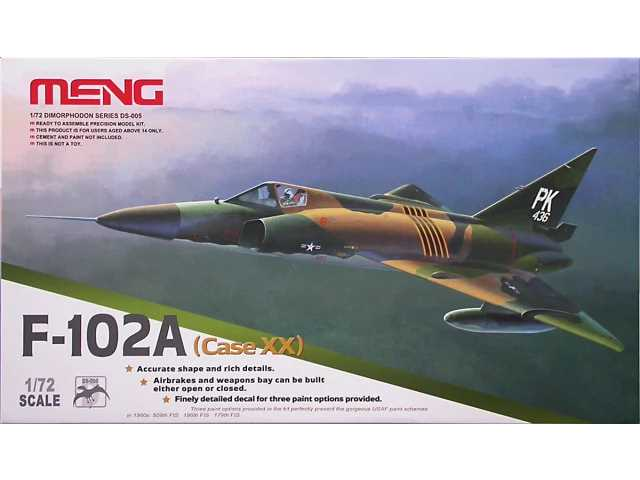 Meng Model 1/72 DS-005 Convair F-102A (Case XX)