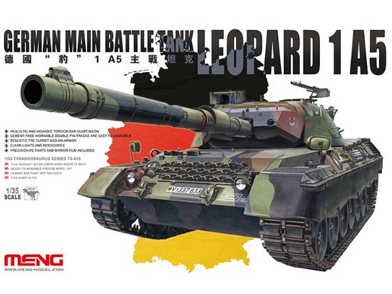 Meng Model 1/35 German Main Battle Tank Leopard 1A5 TS-015
