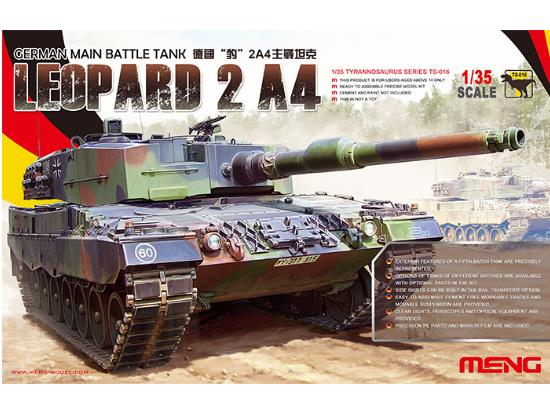 Meng Model 1/35 German Main Battle Tank Leopard 2 A4 TS-016