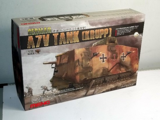 Meng Model 1/35 German A7V Tank TS-017