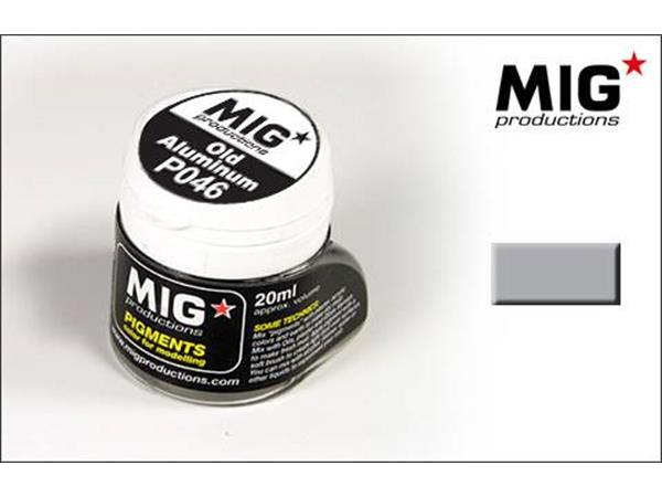 Mig Productions 20ml 00046 Pigment - Old Aluminium