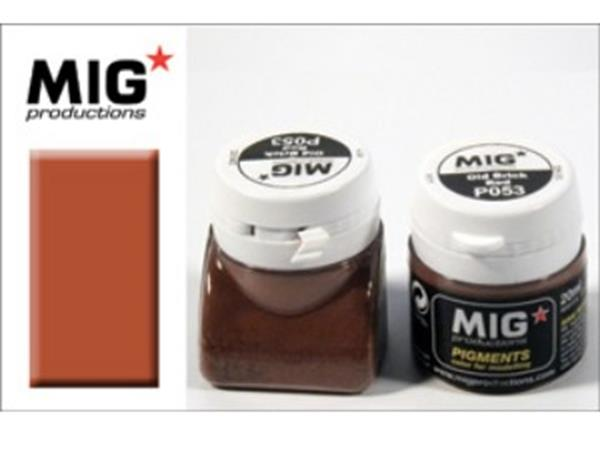 Mig Productions 20ml 00053 Pigment - Old Brick Red