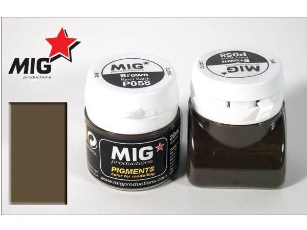 Mig Productions 20ml 00058 Pigment - Brown - River Bank