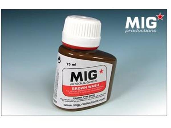 Mig Productions 75ml 00221 Brown Wash
