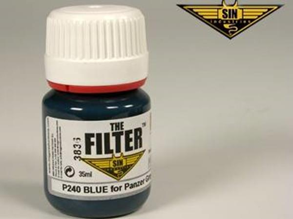 Mig Productions 35ml 00240 Filter - Blue Filter for Panzer Grey