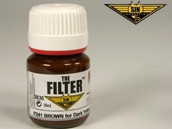 Mig Productions 35ml 00241 Filter -  Brown Filter for Panzer Yellow