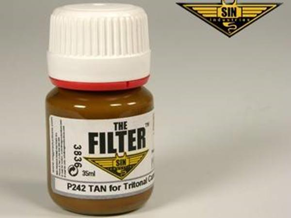 Mig Productions 35ml 00242 Filter - Tan Filter for Tritonal Camo