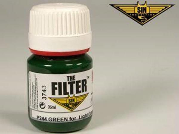 Mig Productions 35ml 00244 Filter - Green Filter for Light Green