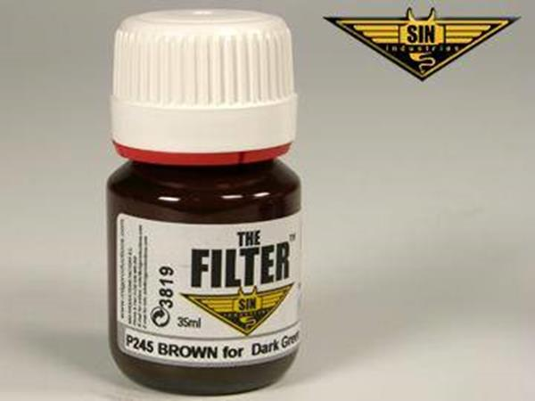 Mig Productions 35ml 00245 Filter - Brown Filter for Dark Green