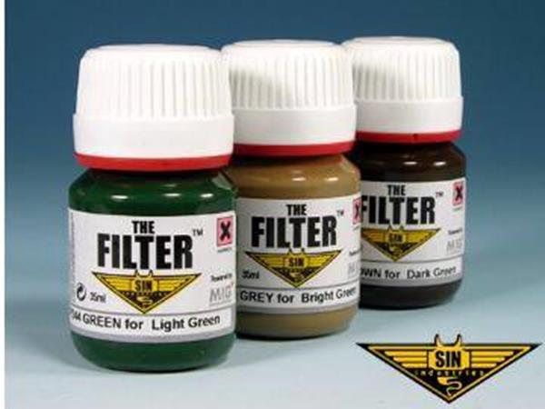 Mig Productions 3 x 25ml 00247 Allied Filter Set