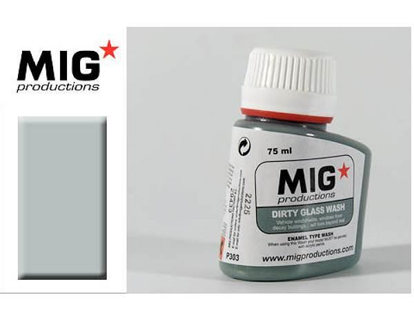 Mig Productions 75ml 00303 Dirty Glass Wash